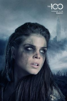 Marie Avgeropoulos as (Octavia) #The100
