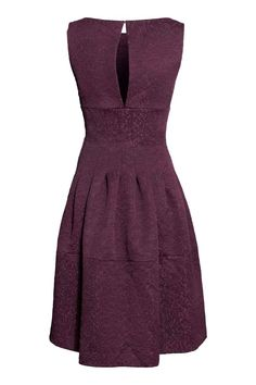 Vestido de brocado   H&M