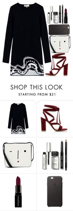 """KDDD"" by krizan ❤ liked on Polyvore featuring Emilio Pucci, Gianvito Rossi, Lulu Guinness, Bobbi Brown Cosmetics and Smashbox"