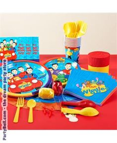 It's a Marvelous The Wiggles Standard Party Pack. Get Ideas of Cartoon & Animated Decoration Kits for Birthday at PartyBell. Wiggles Birthday, Wiggles Party, Wiggles Cake, The Wiggles, 2nd Birthday Parties, Kid Parties, Birthday Ideas, Birthday Cake, Party Packs