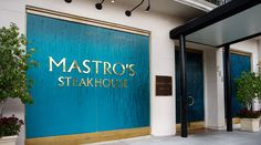 Mastro's Steakhouse Beverly Hills - By far one of my most favorite restaurants in LA - great fun, great steaks, great atmosphere, great drinks, great night out. #LA #Mastros #steaks #drinks #atmosphere #fun