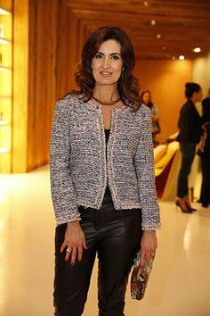 Fátima Bernardes fala sobre beleza: 'Nunca mais faço alisamento' | y_entretenimento - Yahoo OMG! Brasil