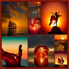 Sunset Dance  by Linda Hay