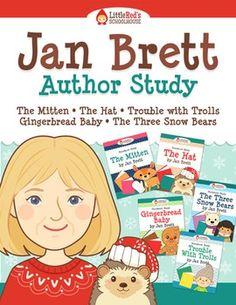 Jan Brett Author Study { Storybook Study Bundle } $