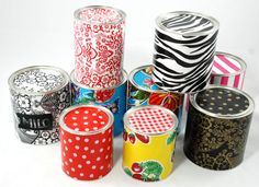 Wonderful ideas for oil cloth!