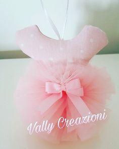 Vestitino ballerina idea compleanno pon pon rosa