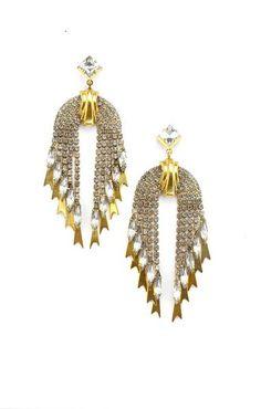 d6c6e6ff0bd68f Elizabeth Cole Pixie Earrings – Elizabeth Cole Jewelry Vintage Inspired,  Pixie, Drop Earrings,