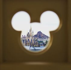 Elevated View of Both Disneyland and Disney Seas from a Tokyo Monorail Train