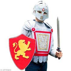 Tuto : déguisement de chevalier