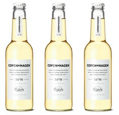 Copen*hagen is a crisp, delicate and refreshing beer that looks great. The clean design was made inhouse at Carlsberg and I think they got the design right for the design aware 25–35 year olds that they are targeting.
