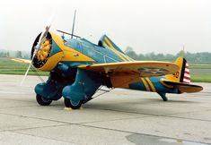 Boeing P-26A USAF - Boeing P-26 Peashooter - Wikipedia, the free encyclopedia