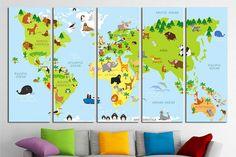 nursery world map nursery map map for kids world map for kids