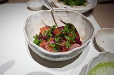 ABC Kitchen beets with yogurt, sooo good Beet Salad, Roasted Beets, Restaurant Branding, Kitchen Pictures, Serving Bowls, Yogurt, Salsa, Fresh, Tableware