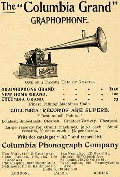 Graphophone adv