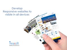 Make your website responsive and reach your customers through all devices.  #innasoft #responsivewebsitedesign