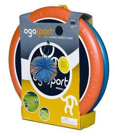 OgoSport Set, Wurfspiel, 2 Ogo-Scheiben + 1 Ogo-Soft-Ball