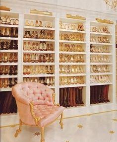 The dream shoe closet