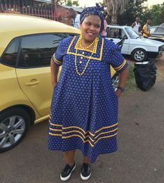 Pedi Traditional Attire, Sepedi Traditional Dresses, South African Traditional Dresses, Traditional Wedding, Best African Dresses, Latest African Fashion Dresses, African Attire, Shweshwe Dresses, Happy Monday