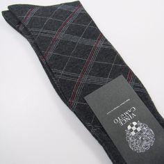 Vince Camuto Men's Graph Print Dress Socks Pima Cotton CHARCOAL HEATHER One Size #VinceCamuto #Dress