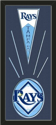 Tampa Bay Rays Wool Felt Mini Pennant & Tampa Bay Rays Team Logo Photo - Framed With Team Color Double Matting In A Quality Black Frame-Awesome & Beautiful-Must For A Championship Team Fan! Most NFL, MLB, NBA, Teams Available-Plz Mention In Gift Message If Need A different Team Art and More, Davenport, IA http://www.amazon.com/dp/B00I1FIOGS/ref=cm_sw_r_pi_dp_DptEub1DE6045