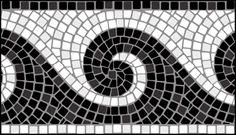 Click to see the actual ML6-M - Border No 6  stencil design.