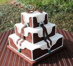 square-western-wedding-cake-pictures ~ http://womenboard.net/western-wedding-cakes/