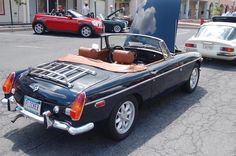 Supercharged MGB