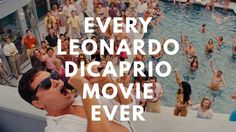 In honor of Leo's exciting Oscar nomination for his role in The Revenant, Andy Schneider and Jonathan Britnell of Burger Fiction created a supercut video of every Leonardo DiCaprio movie ever… | on Laughing Squid