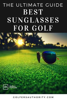 Are you looking for the Best Sunglasses for Golf? Check out our in depth buyers guide to find the best pair of sunglasses for you. Golf Instructors, Golf Score, Wii Sports, Chipping Tips, Golf Putting, Golf Tips For Beginners, Golf Player, Golf Lessons, Golf Humor