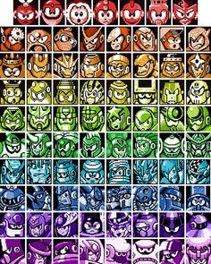 Mega Man Robot Masters Rainbow