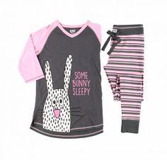 Some Bunny Sleepy Women's PJ Long Tee