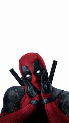 Wallpaper of Deadpool 2 phone - Marvel Comics Deadpool Et Spiderman, Deadpool Funny, Deadpool Movie, Deadpool 2016, Deadpool Costume, Wallpaper Animé, Iphone 6 Wallpaper Backgrounds, Free Android Wallpaper, Heart Wallpaper