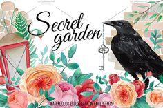 Secret garden by Eisfrei on @creativemarket