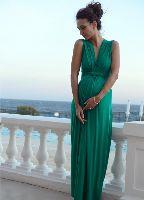 Seraphine - Emerald Green Evening Maternity Maxi Dress