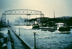 Aerial Bridge, Duluth, MN 1910