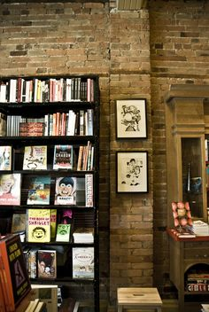 Drawn & Quaterly bookshop in Montreal