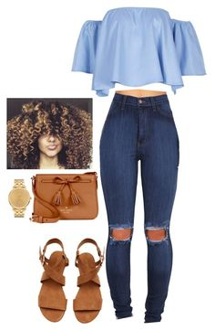 """Untitled #20"" by fovever-flawless on Polyvore featuring Kate Spade and Nixon"