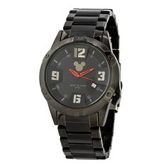 Mickey Mouse Icon Watch for Men - Black
