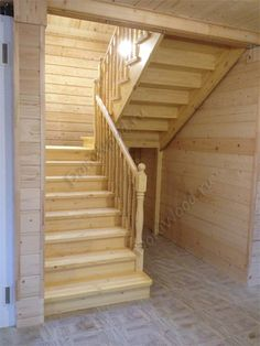 This is also true for that basement stairs. Small Staircase, Staircase Design, Home Room Design, Tiny House Design, Wooden Staircases, Stairways, Split Foyer Entry, Staircase Lighting Ideas, 20x40 House Plans