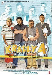 http://www.moviezcinema.com/2017/01/krazzy-4-2008.html - Krazzy 4 (2008) Hindi Full Movie Watch Online Free HD