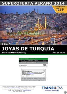 Joyas de TURQUÍA / 8 días ¡¡Superoferta Verano: 22 y 29 Julio!! sal. Madrid ultimo minuto - http://zocotours.com/joyas-de-turquia-8-dias-superoferta-verano-22-y-29-julio-sal-madrid-ultimo-minuto/