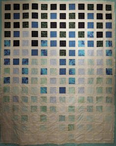 great colors on a simple quilt