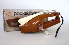 A pocket fishing rod n reel?