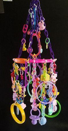 Sugar Glider / Bird Toy - Mega Charm Design | Pet Supplies, Bird Supplies, Toys | eBay!