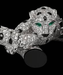 The famous Cartier panther paving www.blamehelenabooks.com