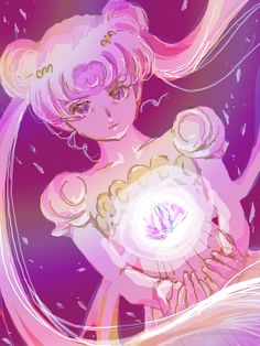 Princess Serenity | by まー坊 @ Pixiv.net // #sailormoon