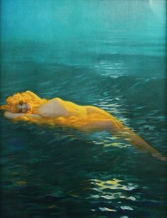 """vintagegal:  """"Queen Of The Waves""""by Edward Eggleston c. 1920s"""
