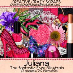 http://www.creativecrazyscraps.blogspot.com.br/search/label/BLOGTRAINS
