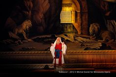 John Relyea as Zaccaria, High Priest of the Hebrews in the Minnesota Opera production of Nabucco.