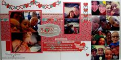 Stamping Rules!: Day 9: Heartstrings Scrapbook Kit pages 1/2 of 6 CTMH
